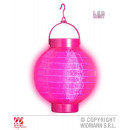FUCHSIA LIGHT-UP STOFFLAMPINION MET 2 WIT