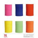 groothandel Windlichten & lantaarns: EINFARBIGE LANTERN  Ø 13 cm - 28 cm - 6 Farben sort
