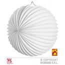 Ronde witte LAMPINION Ø 25 cm vlamvertrager