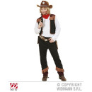 COWBOY (camicia con gilet, pantaloni, bandana)