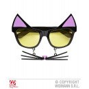 wholesale Toys: GLASSES OF CAT  (BITCH) WITH CORD HAIR