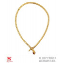 wholesale Toys: GOLDEN SNAKE CHAIN WITH RED STONE EYE
