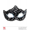wholesale Toys: BLACK EYE MASK  WITH RIALTO HOLOGRAPHIC PAI
