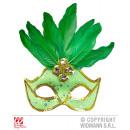 wholesale Toys: BRAZILIAN neon  green EYE MASK WITH HOLOGRAFIS