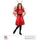 MARIENKÄFER (Kleid, Unterrock, Gürtel mit Schleife