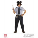 POLICEMAN (shirt, pants, belt, tie, hat)