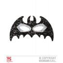 wholesale Toys: EYE MASK BAT WITH BLACK SILVER gliding