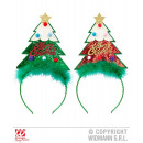 wholesale Toys: ranked HEADGEAR  GLITTER CHRISTMAS 2 colors