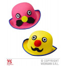 wholesale Toys: MELON LORD  MUSTACHE felt - pink and yellow s