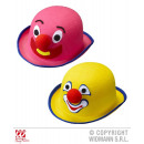wholesale Toys: BOWLER CLOWN felt - by pink and yellow