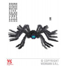 ANIMATED BLACK SPIDER WITH MOBILE LEGS,