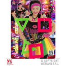 wholesale Toys: NEON-COLOR CHAIN WITH EARRINGS