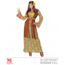 HIPPIE WOMAN (dress with vest, necklace with peace
