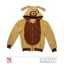 PERRO (chaqueta de lana con capucha)