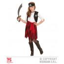 Pirate Girl (abito con gilet, cintura, fascia)