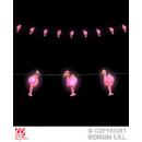 Großhandel Lichterketten:FLAMINGOLICHTERKETTE  2,5 m - 10 Lichter - auf Batt