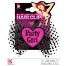 Haarklammer Party Girl ca 14x14cm