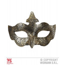 MASK BIRD LUXURY WITH GOLD METALLIZED FABRIC