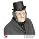 grossiste Jouets: MASQUE OLD MOUSSE MAN LATEX AVEC WIG