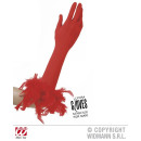 wholesale Toys: RED GLOVES IN  ELASTANE WITH PEN STATEMENTS 37