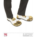 wholesale Toys: GOLD / WHITE PARTY  SHOES with rubber sole