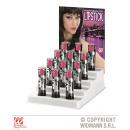 hurtownia Make-up: 12 RÓŻOWYCH POMADEK 6 ml - w pudełku