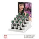 hurtownia Make-up: 12 ZIELONYCH POMADEK 6 ml - w pudełku