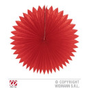 CHINA rode rozet diameter 75 cm