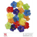 HIBISKUS FLOWERS 18 pcs. Set -6 colors sort.