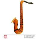 Großhandel Musikinstrumente: Saxophon aufblasbar orange ca 55 cm