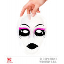 Gotische masker uit PVC