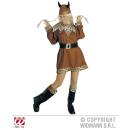 Viking (dress, belt, boot covers, helmet