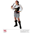 wholesale Skirts: PIRATE WOMAN  (tunic with jabot, skirt, belt, step