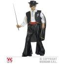 wholesale Toys: MASKED BANDIT  (costume with vest, belt, Umhan