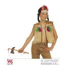 wholesale Toys: INDIAN dress- up-  set (vest, headband with Fede