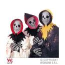 wholesale Toys: SKELETON dress-  up- set (hood with a skull mask,