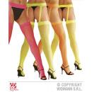 ingrosso Abbigliamento erotico: NEON calze autoreggenti HALT FINE NET con cinghie