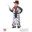Costume Cowboy (gilet, gambali, sciarpa al collo,