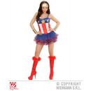 grossiste Vetements érotiques: SUPER HERO GIRL (corset, tutu)
