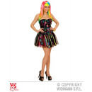 grossiste Vetements érotiques: NEON RAINBOW FANTASY GIRL (Corset, Tutu)