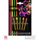 Set con 5 neon PINS TRUCCO