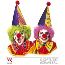 wholesale Toys: CLOWN dress- up-  set (hat, bow tie, nose) sort. in