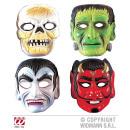ORRORE maschera di plastica - sorta in 4 modelli.