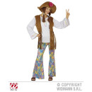 WOODSTOCK HIPPIEFRAU (blouse with vest, trousers,