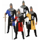 wholesale Toys: MEDIEVAL WARRIOR  sort. In 4 colors (Coat,