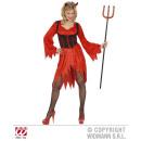 Großhandel Erotik Bekleidung: LUSCIOUS DEVIL  (Kleid, Korsett, Hörner)