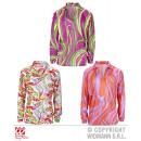 grossiste Chemises et chemisiers: SHIRT sorte FUNKY FEVER. en 3 couleurs