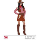 wholesale Skirts: COWGIRL (blouse,  vest, skirt, belt with holster, S