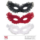 PAPILLON maschera per gli occhi CON PIZZO 3 sorta