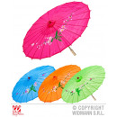wholesale Parasols & Pavilions: PARASOL SILK  ORIENTAL DECORATED WITH H